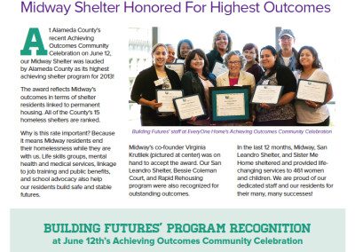 Building Futures Newsletter