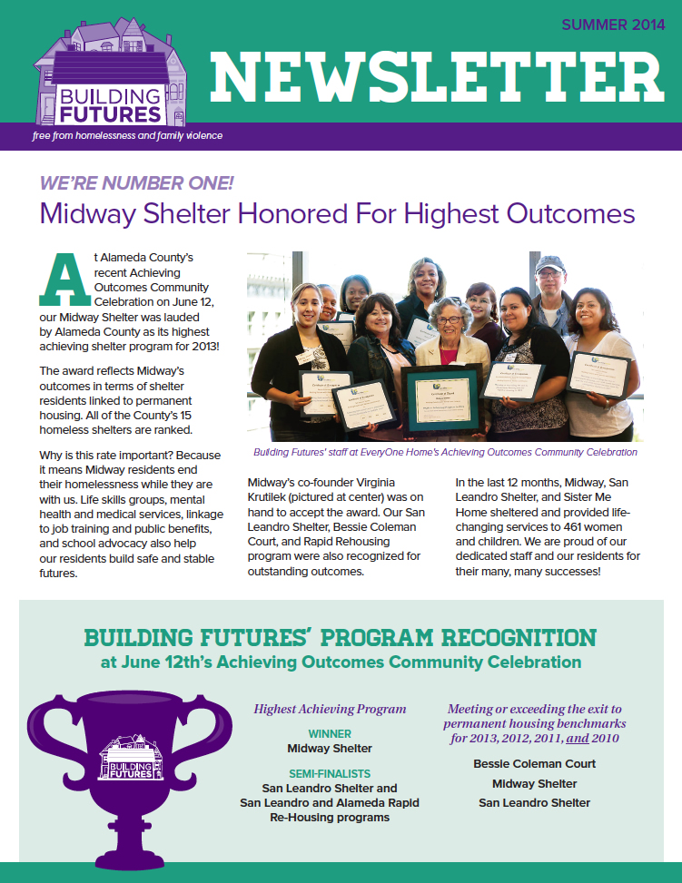 Building Futures Newsletter
