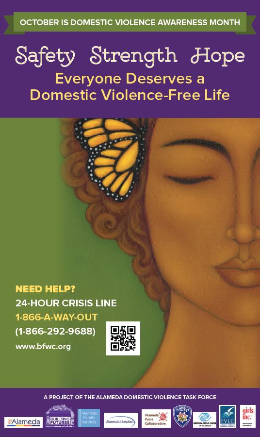 BILLBOARDS: October Is Domestic Violence Awareness Month