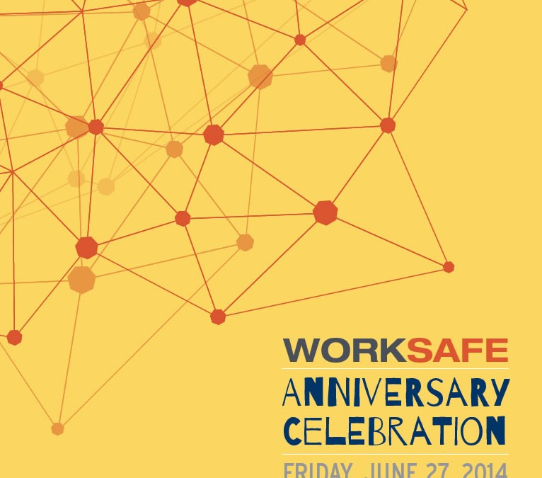 WorkSafe Anniversary 2014 Celebration Invite